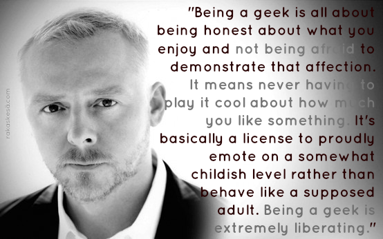 Simon Pegg's quote