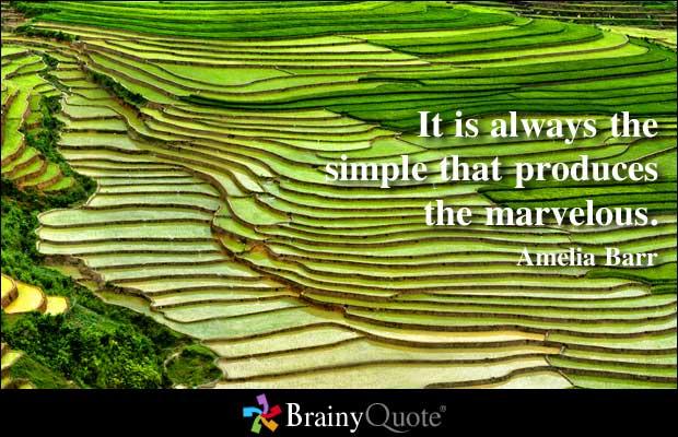 Simplest quote #2