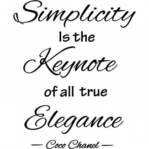 Simplicity quote #3