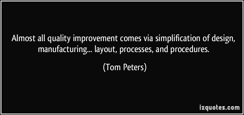 Simplification quote #2