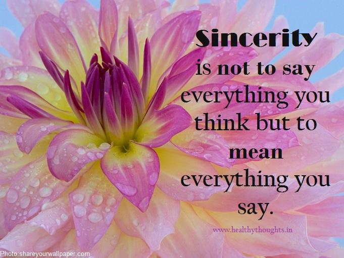 Sincere quote #2