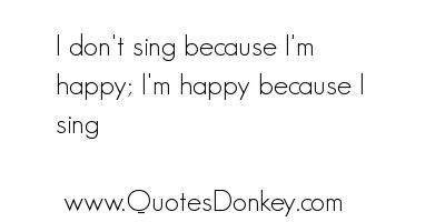 Singing quote #5