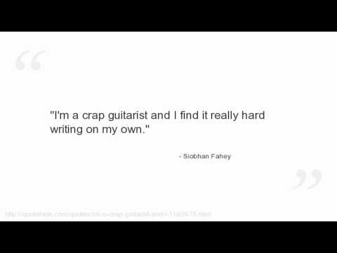 Siobhan Fahey's quote #6
