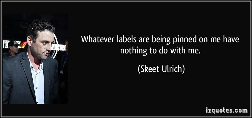 Skeet Ulrich's quote #1