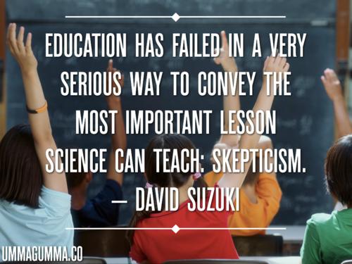 Skepticism quote #3