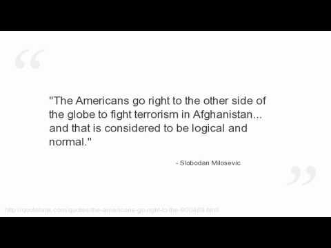 Slobodan Milosevic's quote #7
