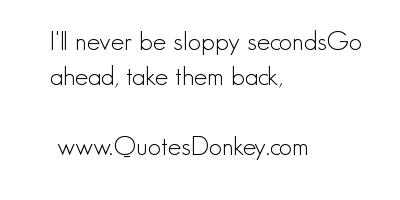 Sloppy quote #2