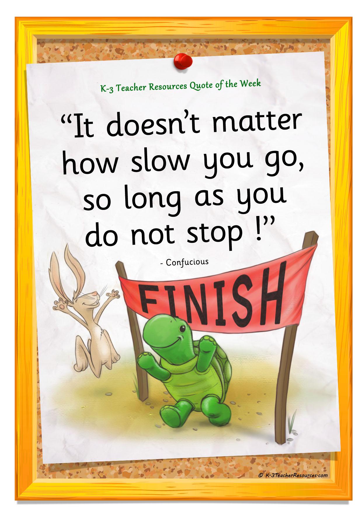 Slow quote #6