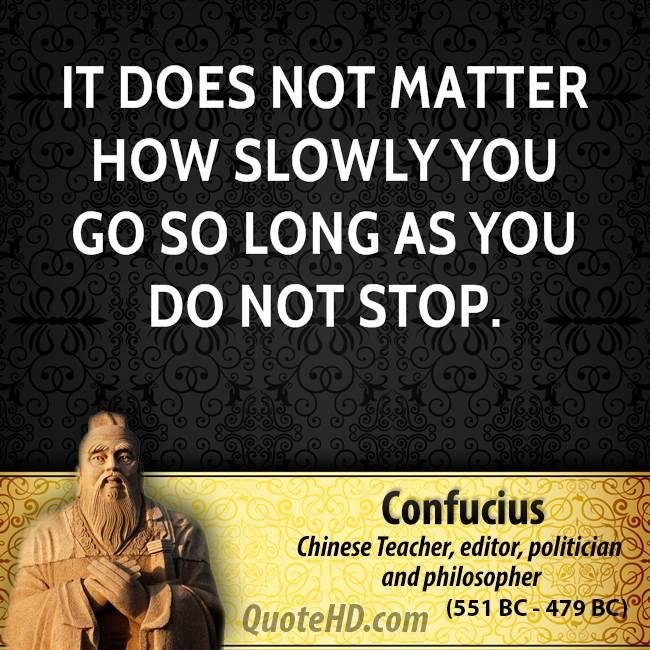 Slowly quote #8