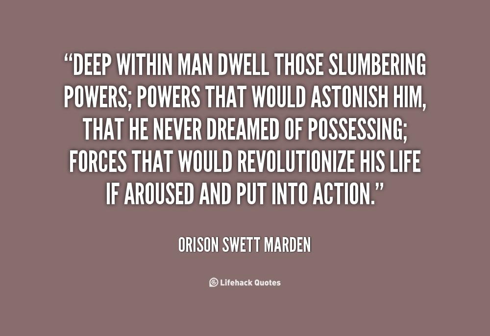 Slumbering quote #1