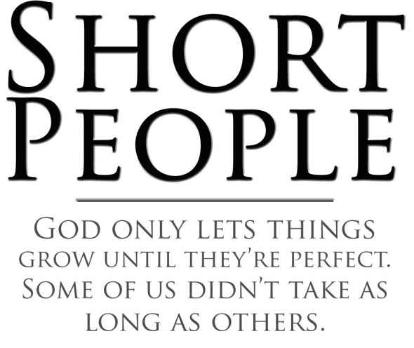 Short Quotes For God: Famous Quotes About 'Small People'