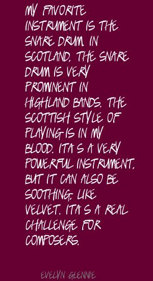 Snare quote #2