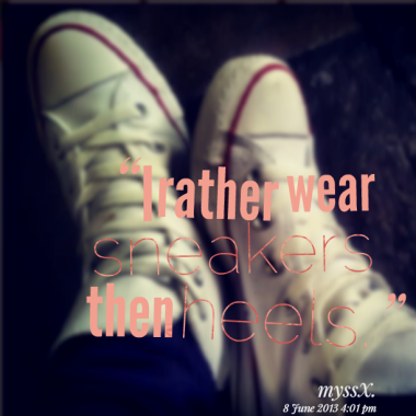 Sneakers quote #3