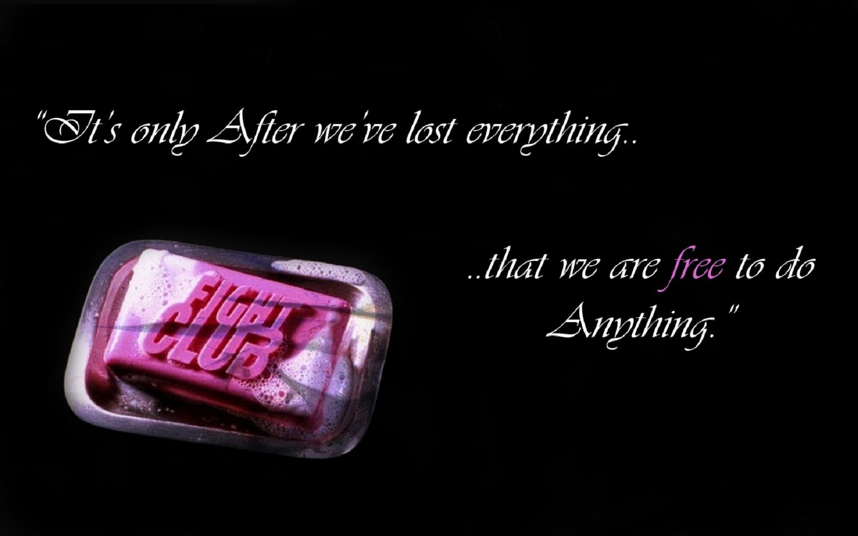 Soap quote #1