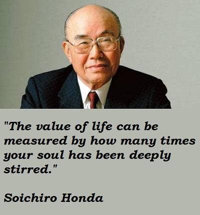 Soichiro Honda's quote #2