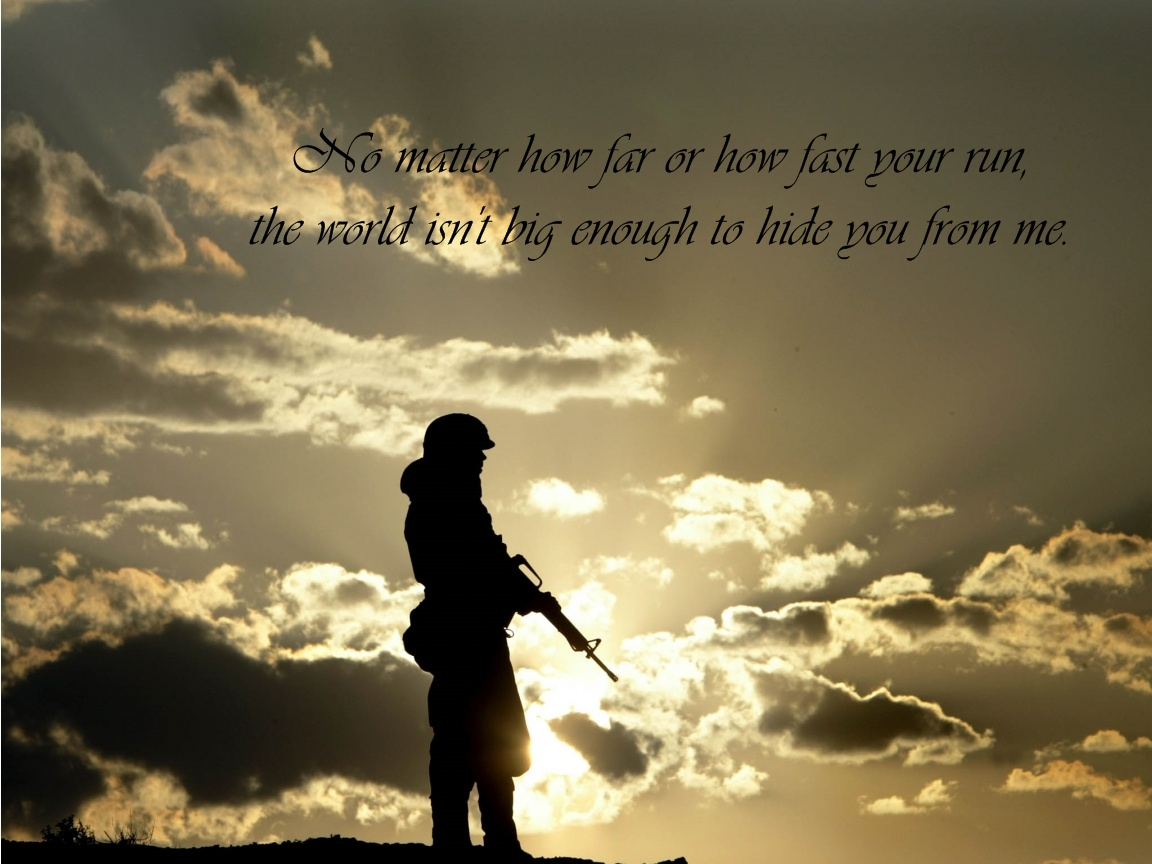 Soldier quote #4
