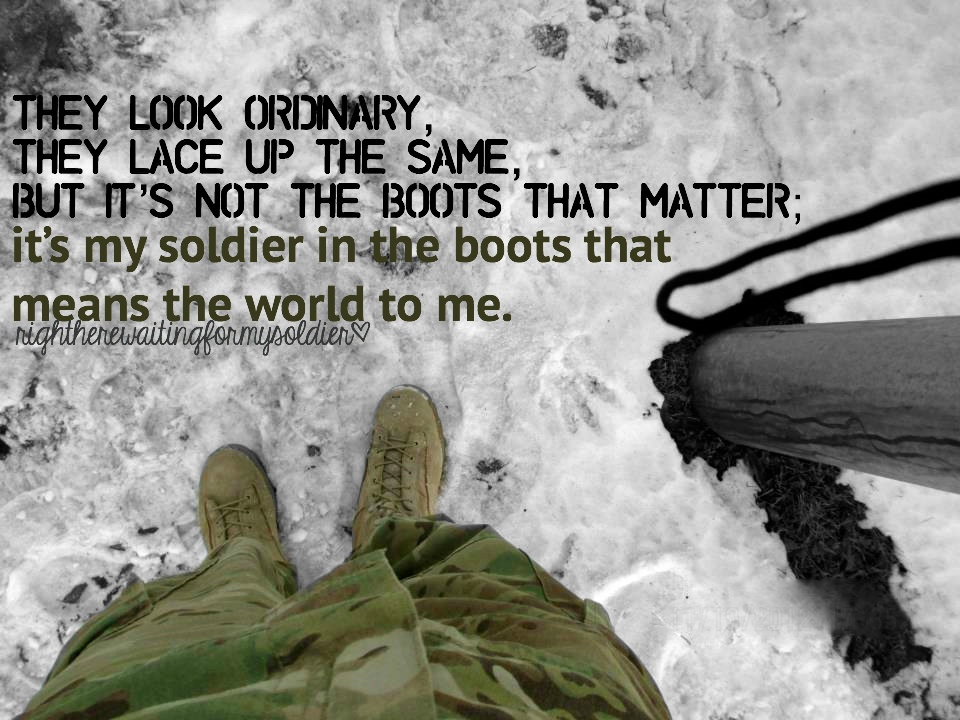 Soldier quote #6