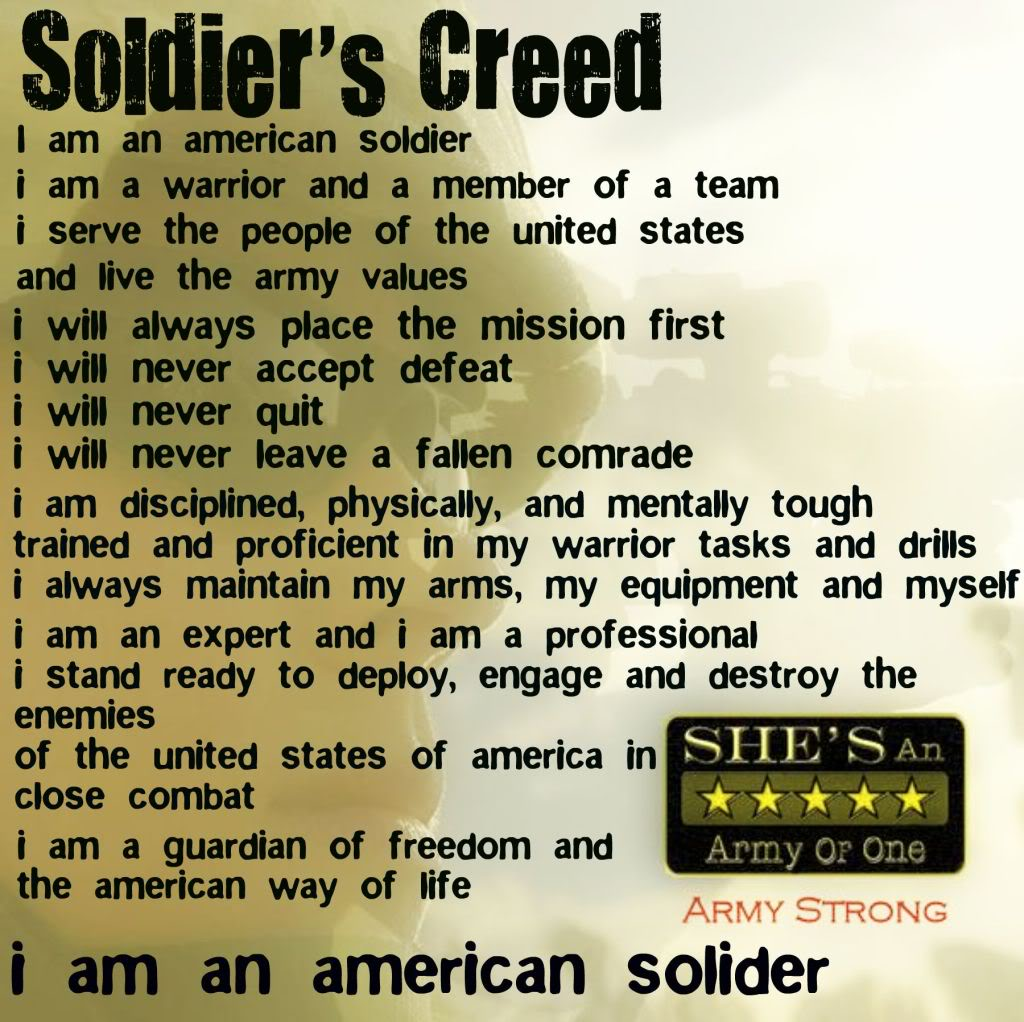 Soldier quote #1