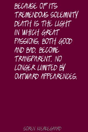 Solemnity quote #1