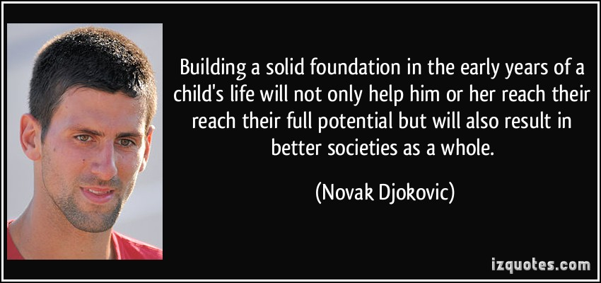 Solid Foundation quote #1