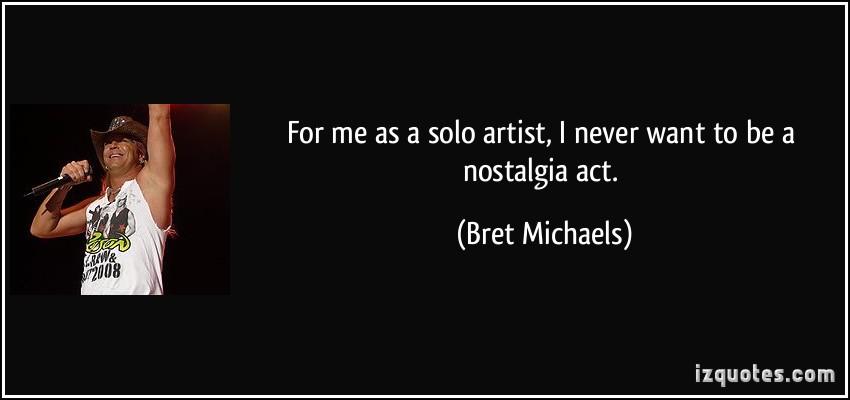Solo Artist quote #1