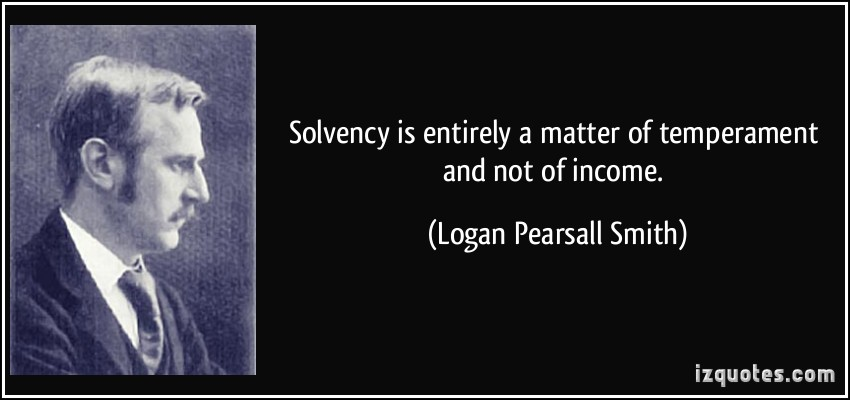 Solvency quote #1