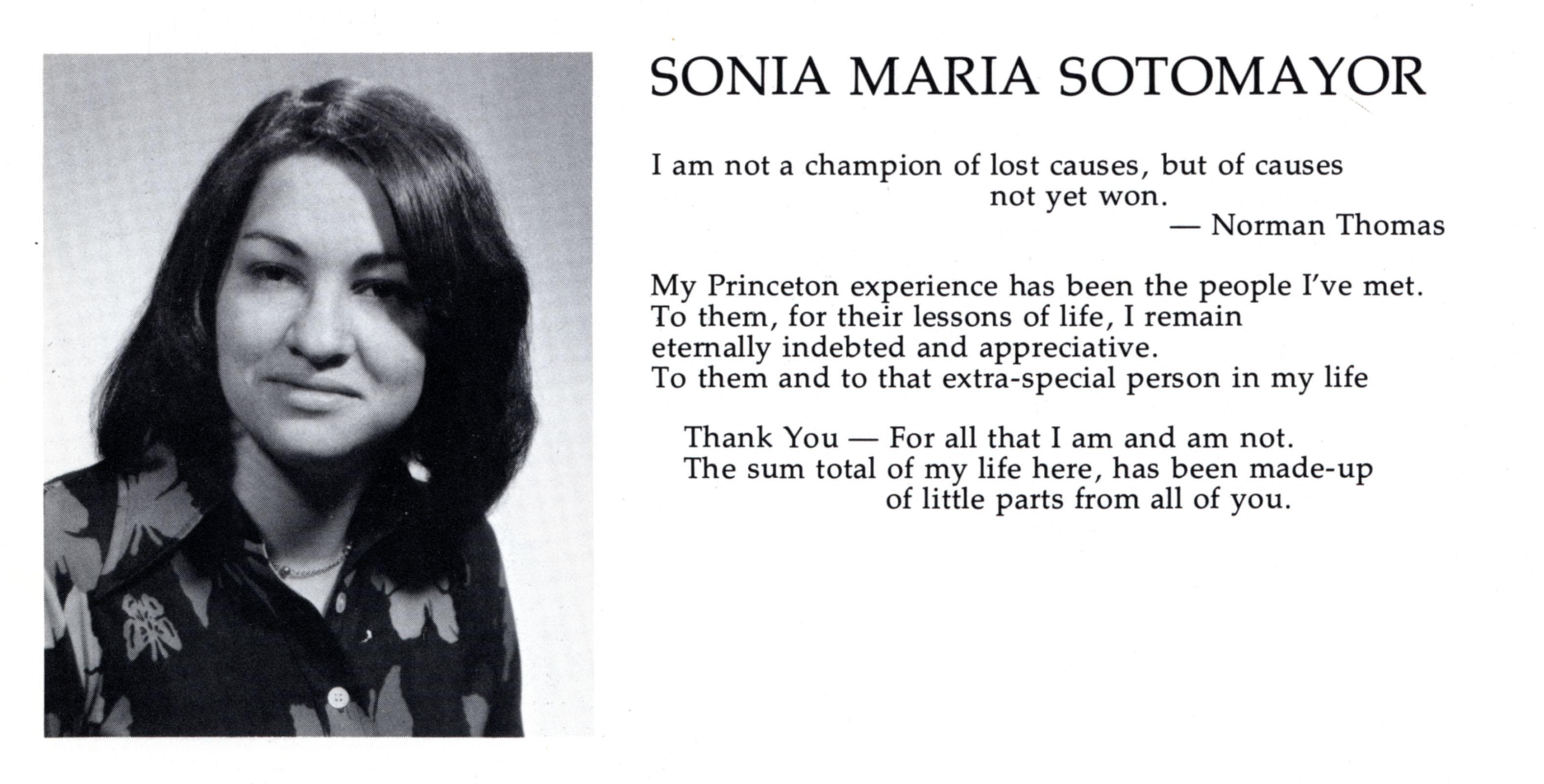 Sonia Sotomayor's quote #1