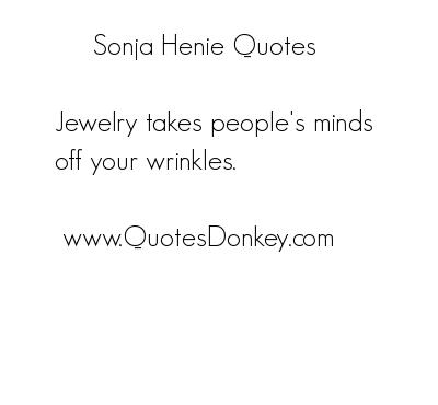 Sonja Henie's quote #1