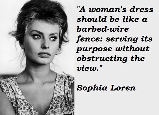 Sophia Loren's quote #4
