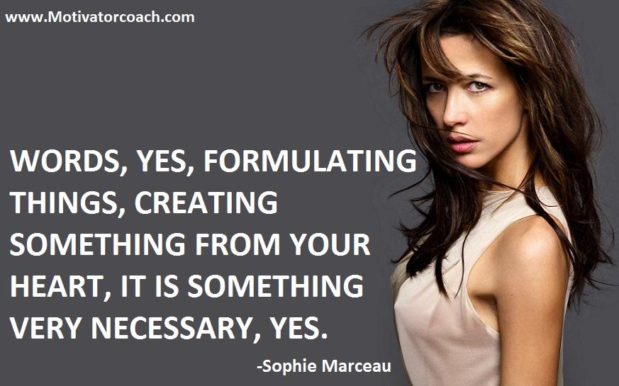 Sophie Marceau's quote #2