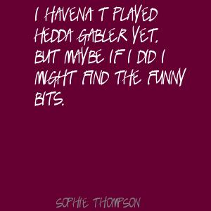 Sophie Thompson's quote #5