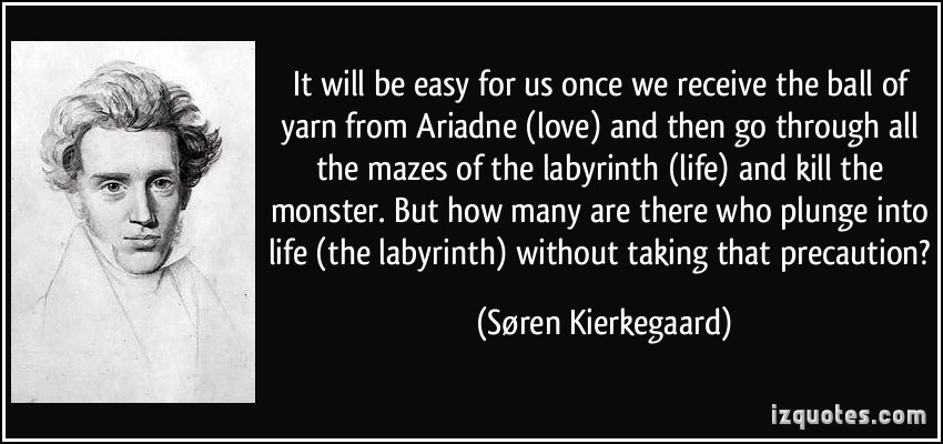 Soren Kierkegaard's quote #2