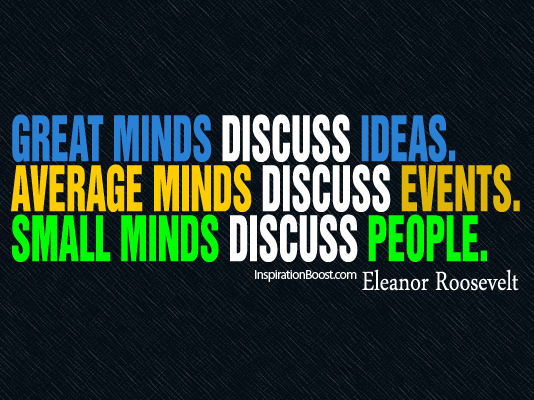 Specific Idea quote #1