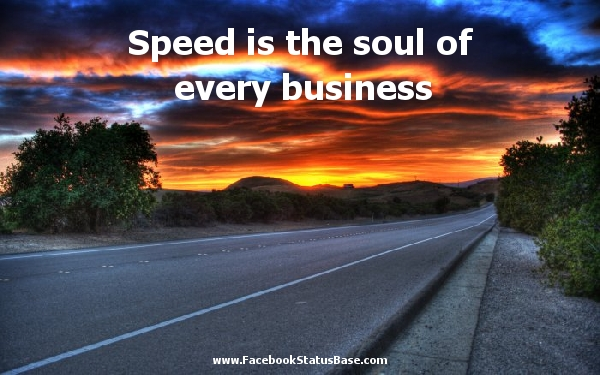 Speed quote #8
