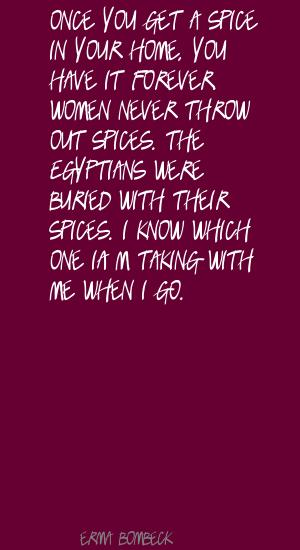 Spice quote #1