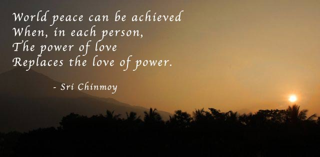 Sri Chinmoy's quote #8