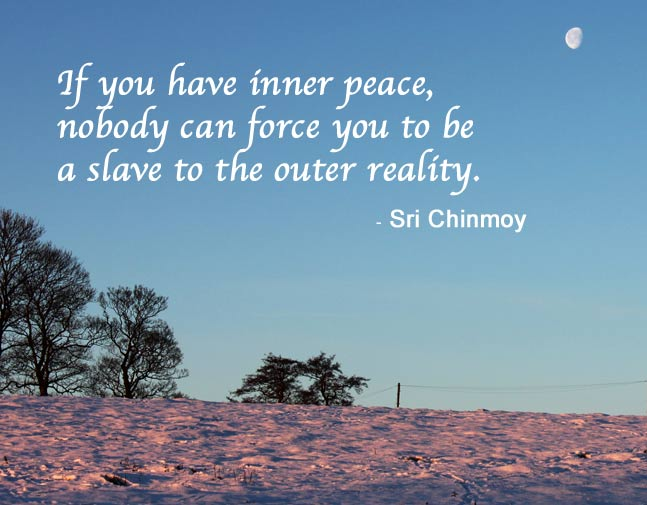 Sri Chinmoy's quote #6