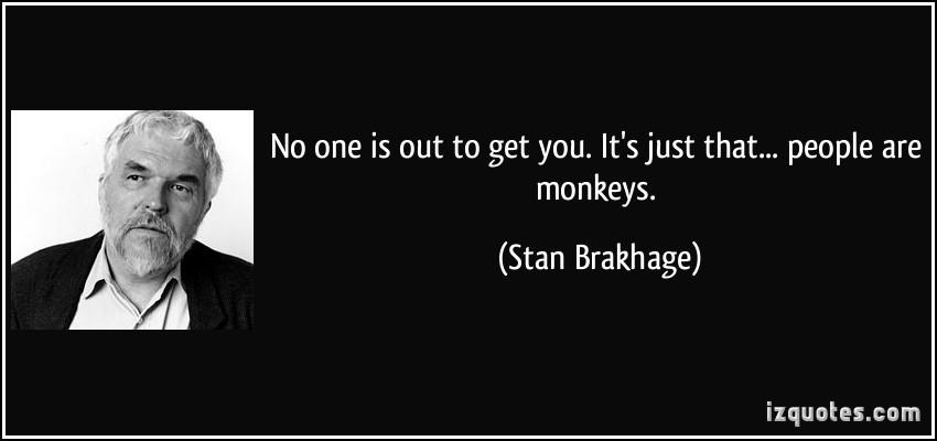 Stan Brakhage's quote #1