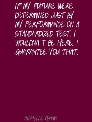 Standardized quote #1