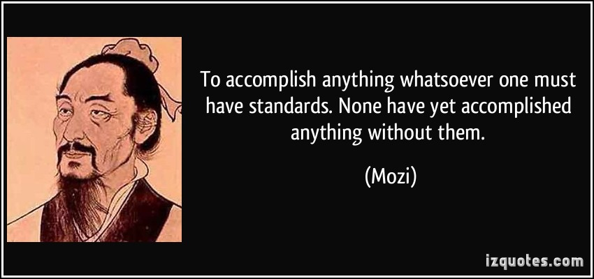 Standards quote #6