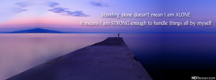 Standing Alone quote #2