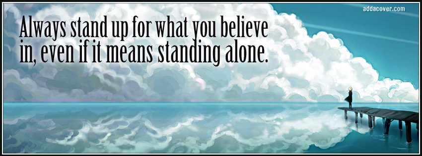Standing Alone quote #1
