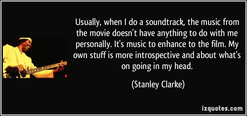 Stanley Clarke's quote #4