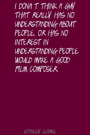 Stanley Clarke's quote #7