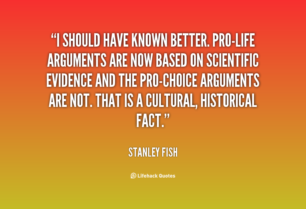 Stanley Fish's quote