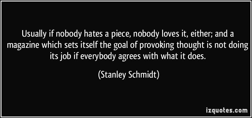 Stanley Schmidt's quote #1