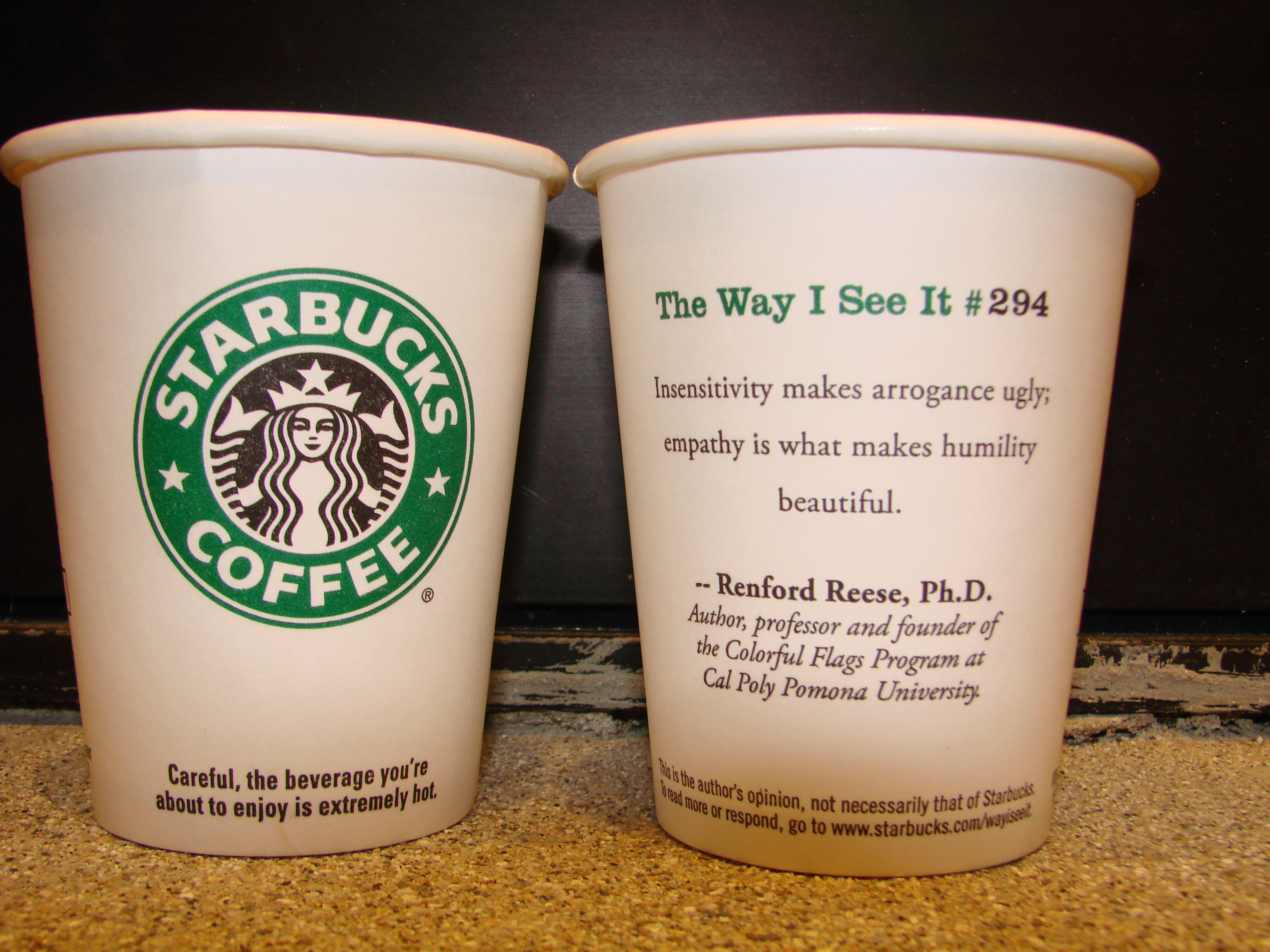 Starbucks quote #1