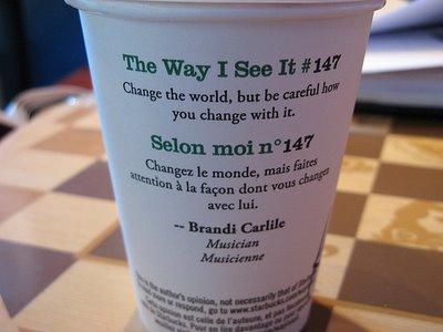 Starbucks quote #2