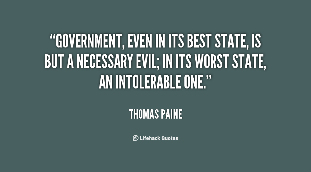 State Government quote #2
