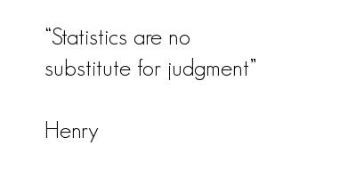 Statistics quote #3
